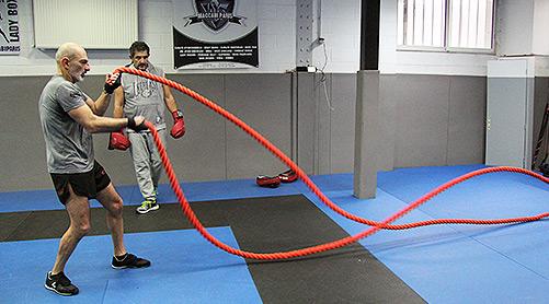 Exercices personnalisés Boxe Française et Anglaise